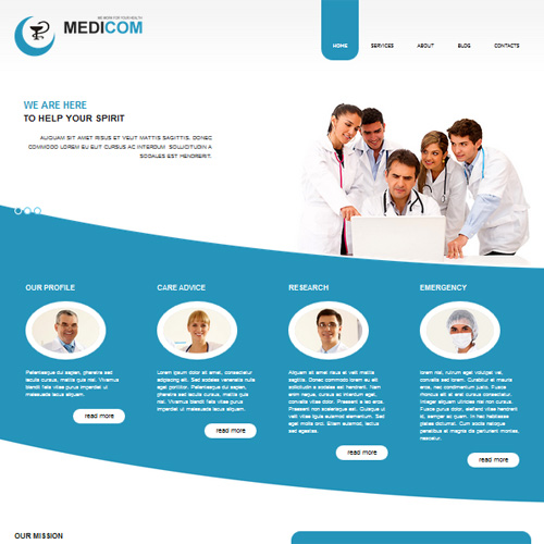 AS 002044 Medicom Joomla Medical Template