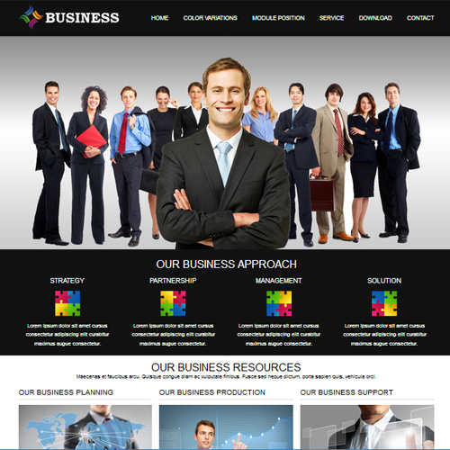 RT Business Responsive Joomla Template