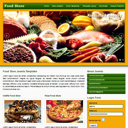 Download free jsr food store joomla template jsr food store joomla template forumfinder Images