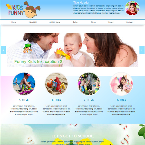 Kids center responsive joomla template #51981.