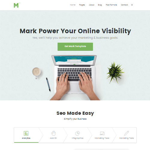 JL Mark Joomla Marketing Template