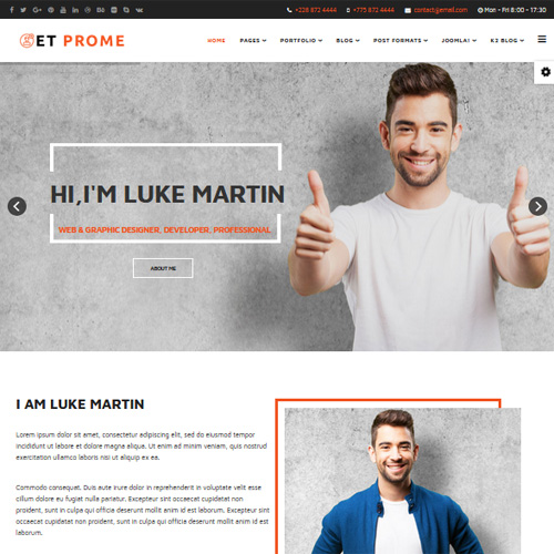 Prome Joomla Template by Engine Templates