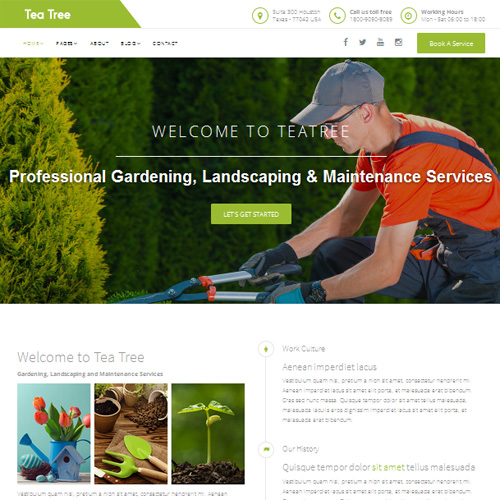 JL Tea Tree Responsive Joomla Template