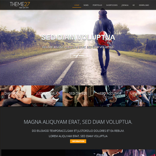 TC Theme 27 Joomla Template