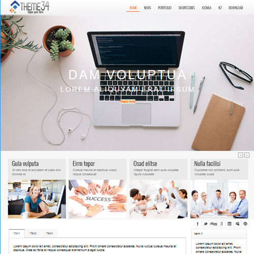 TC Theme 34 Joomla Template