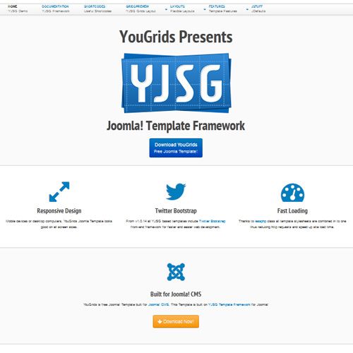 You Grids Joomla Template