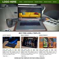 A1 Green Joomla Template