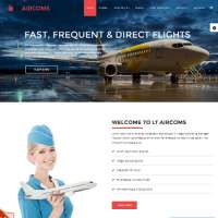 Aircoms Joomla Template