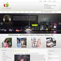 Apple Design Joomla Template