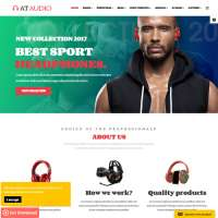 Audio Joomla Template