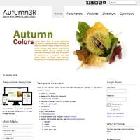 Autumn3R Joomla Template