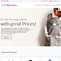 Baby Shop Joomla Template