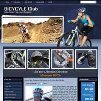 Bicycle Club Joomla Template