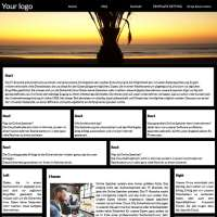 Black Joomla Template