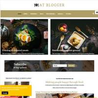 Blogger Joomla Template