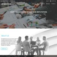Boston Joomla Template