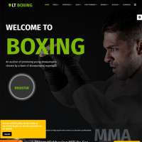 Boxing Joomla Template