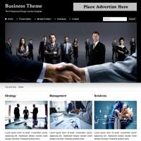 Business Theme Joomla Template