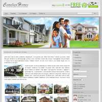 Camelian Homes Joomla Template