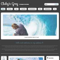 Clubys Grey Joomla Template