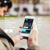 Connecto Joomla Template