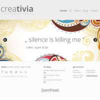 Creativia Joomla Template