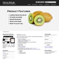 Dealer3R Joomla Template