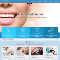Dental Joomla Template