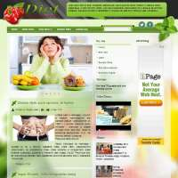 Diet Magazine Joomla Template