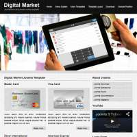 Digital Market Joomla Template