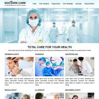 Doctors Care Joomla Template