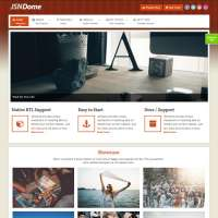 Dome 2 Joomla Template