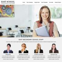 East School Joomla Template
