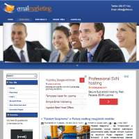 Email Marketing Joomla Template