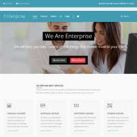Enterprise Joomla Template