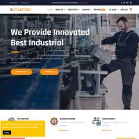 Factory Joomla Template