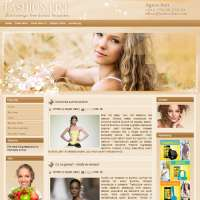 Fashion Line Joomla Template