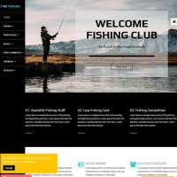Fishing Joomla Template