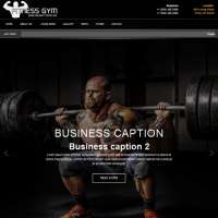 Fitnes Gym Joomla Template