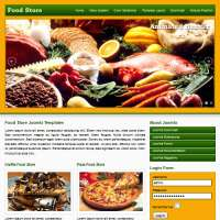 Food Store Joomla Template