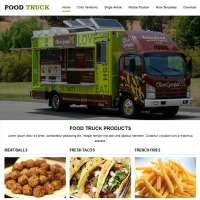 Food Truck Joomla Template