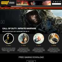Gaming Joomla Template