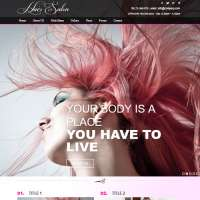 Hair Salon 2 Joomla Template