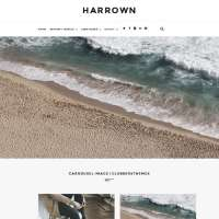 Harrown Joomla Template