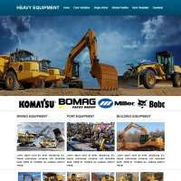 Heavy Equipment Joomla Template