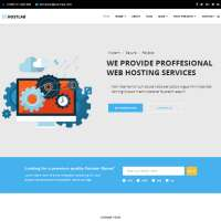 HostLab Joomla Template