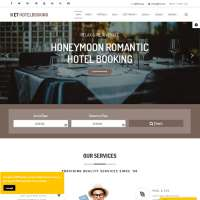 Hotel Booking Joomla Template