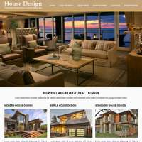 House Design Joomla Template