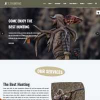 Hunting Joomla Template