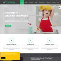 Inclean Joomla Template